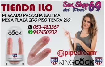 Dildo doble chisa.