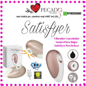 Satisfyer vibrador suucionador clitorial lo mejor en estimulador sexshop pecados cel:979033560