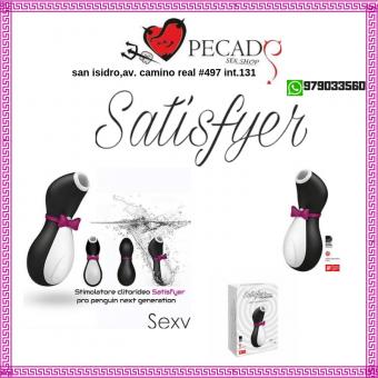 Satisfyer Pro Penguin estimula tu clítoris sexshop pecados san isidro cel:979033560