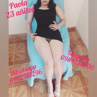 PAOLA, BELLA NENA DE 23 AÑOS… UNA DIABLITA EN LA CAMA!!!