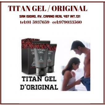 N°1 en el mundo tita gel desarrollador para hombre en sexshop pecados cel:979033560