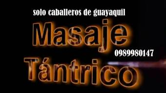 masajes a caballeros de guayaquil 0989980147