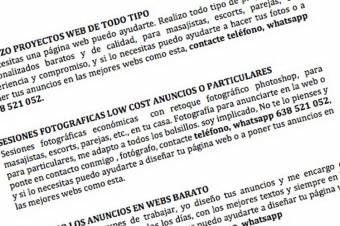 PONGO ANUNCIOS EN WEBS barato Y HAGO FOTOS