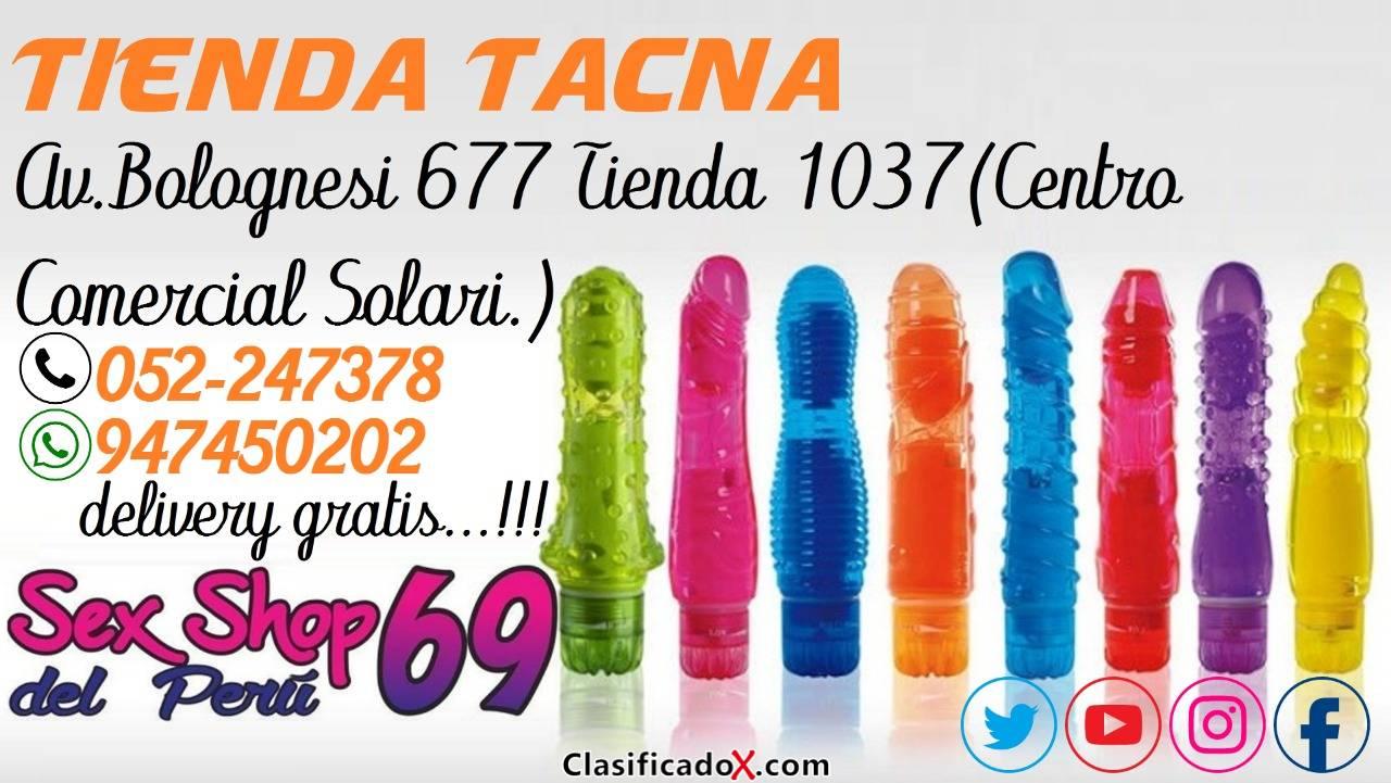 Vibradores Jelly a Prueba de Agua en Tacna