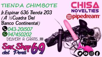 SEX SHOP JUGUETES SEXUALES  / CHIMBOTE