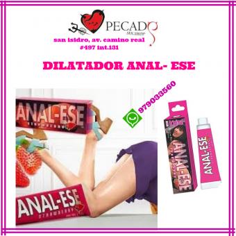 Dilatador analeze, es un lubricante especial para desensibilizar el área del ano sexshop pecados
