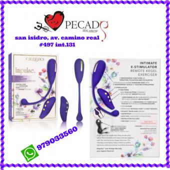 Impulse Intimate E-Estimulador vibrador estimulador clitorial sexshop pecados san isidro cel:979033560