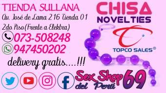 SEX SHOP TIENDAS EN TODO EL PERU --SULLANA