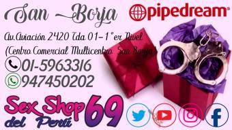 69 SEX::SHOP  juguetes eróticos San Boja