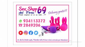 SEXSHOP DEL PERU 69. JIRON DE LA UNION (ENTRADA MOVISTAR)
