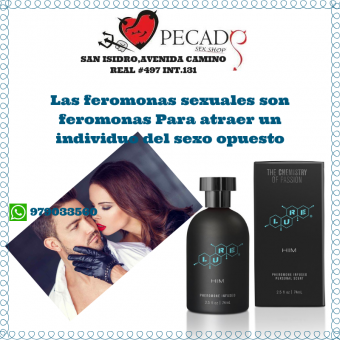colonias de feromonas Lure Black  For Him sexshop san isidro cel:979033560