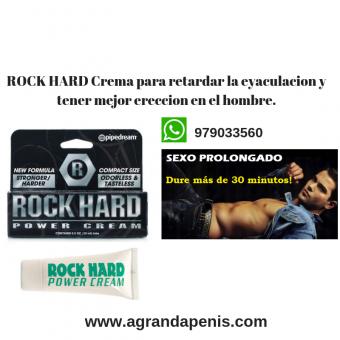 Crema Retardante De Eyaculación Rock Hard sexshop pecados san isidro cel:979033560