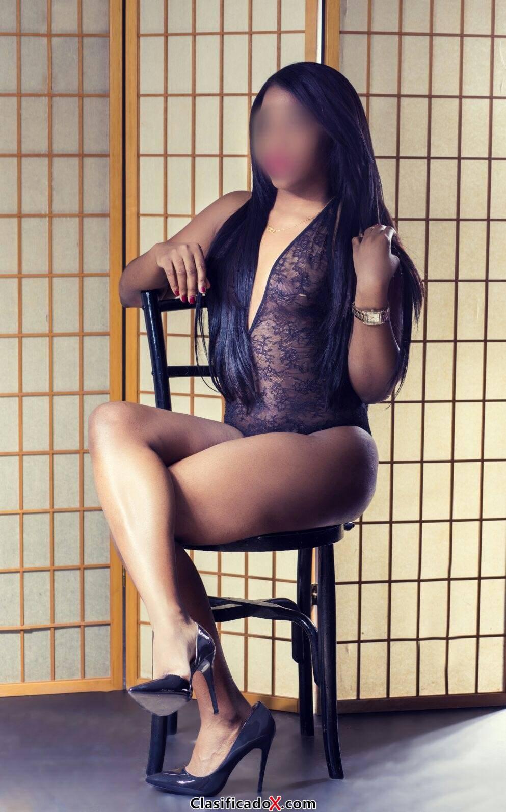 Jamaicana espectacular, activa y cañera, llámame.