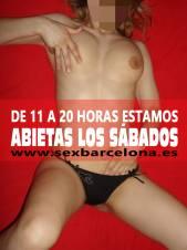 ABIERTAS los SÁBADOS de 11 a 20 horas!!!