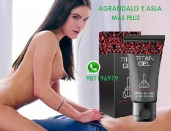 titan gel alargador engrosador 981196979