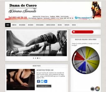 Páginas webs para escorts y mistress