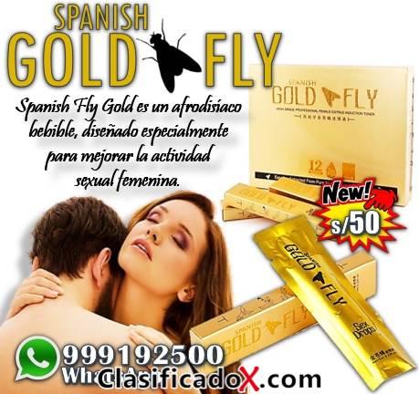 Excitante Sexual Femenino Spanish Gold Fly / Sexshop Miraflores
