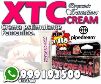 Excitante Sexual Femenino / Xtc Cream Pipedream
