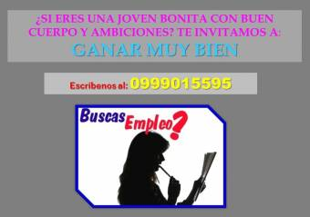 SOLICITA SEÑORITAS UNIVERSITARIAS EN QUITO