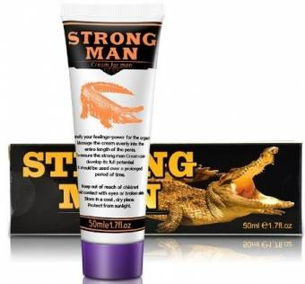 crema natural para hombre potenciador /