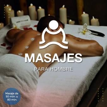 ¡Haz tu cita! Masaje hombre a hombre Guadalajara