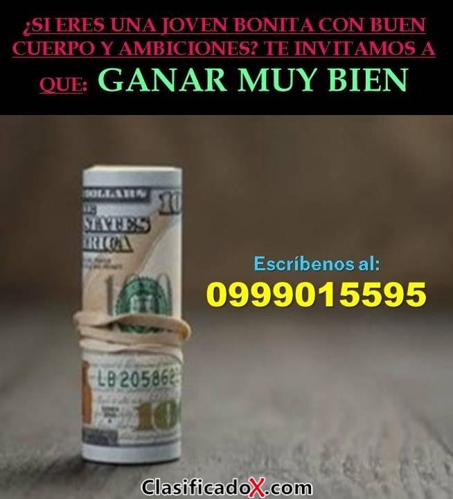 BUSCAMOS CHICAS NACIONALES 0 EXTRANJERAS PARA QUITO