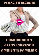 PLAZAS DISPONIBLES- AGENCIA CONTINENTAL MADRID – mucho trabajo 6000€